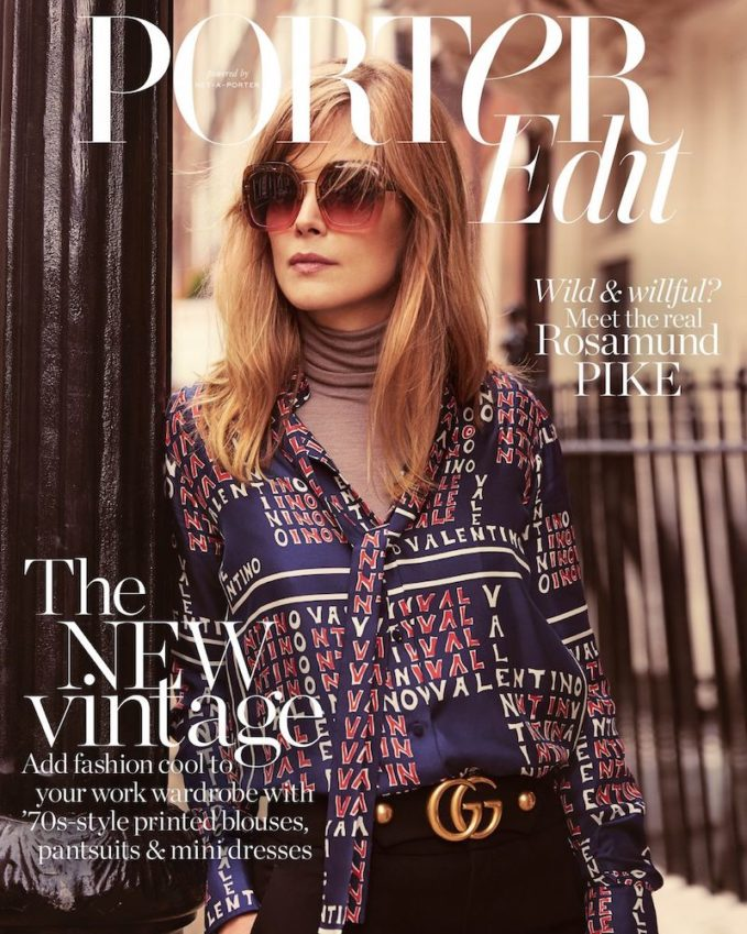 Conflict of Interest: Rosamund Pike for The EDIT