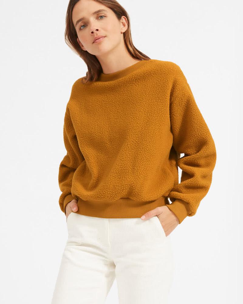 Everlane ReNew Fleece Sweatshirt