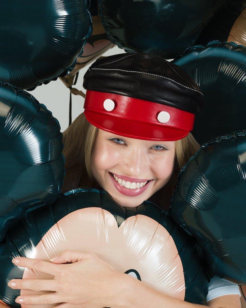 Gigi Burris Millinery x Disney Mickey 1928 Willie Leather Cap