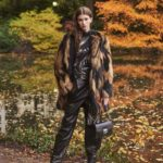Givenchy Intarsia Faux-Fur Quilted-Lining Mid-Thigh Coat