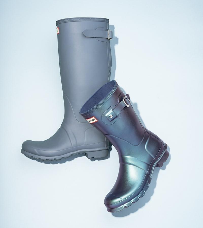 Hunter Original Short Nebula Rain Boot