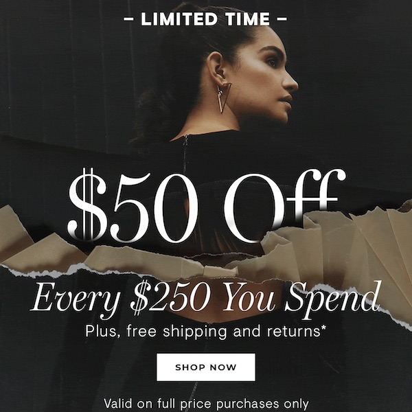 INTERMIX Black Friday Sale 2018