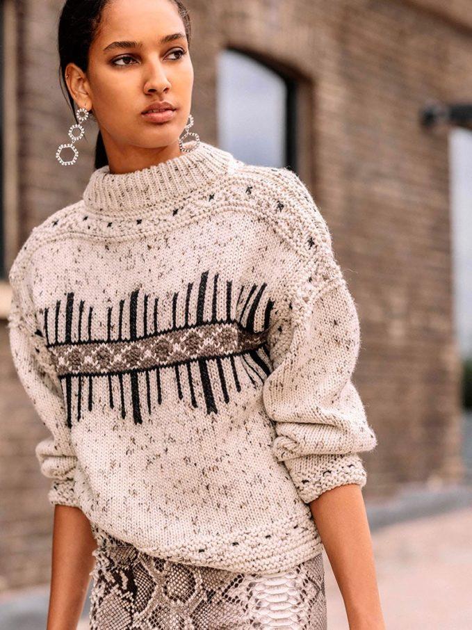 Isabel Marant Elwyn Wool-blend Sweater