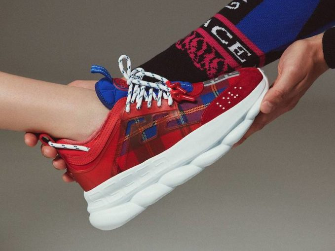 LVR Editions x Versace Chain Reaction Sneakers