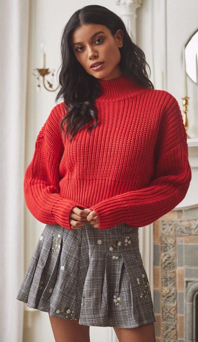 Lovers + Friends Union Sweater 1