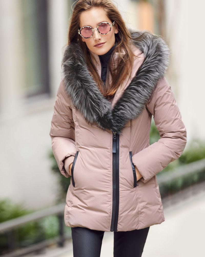 Mackage Adali Fur-Hood Down Puffer Coat