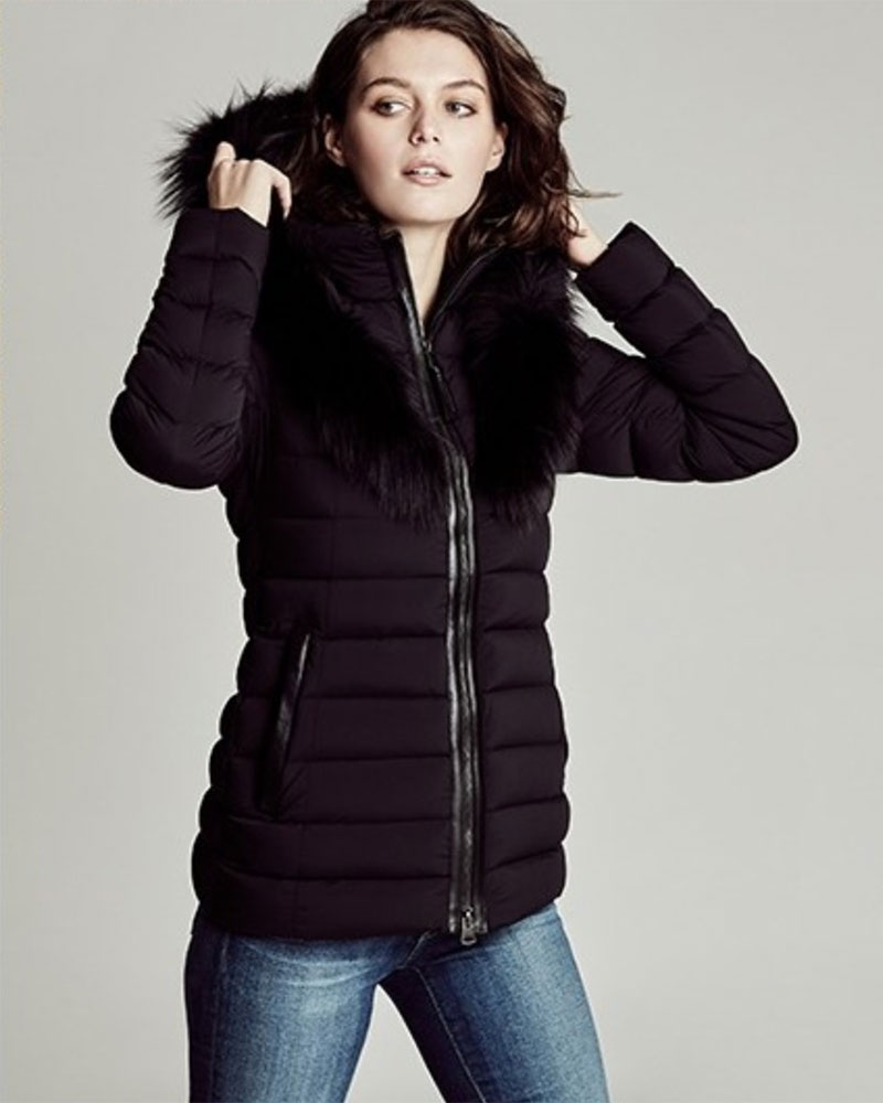 Mackage Kadalina-X Fox Fur-Trimmed Down Jacket