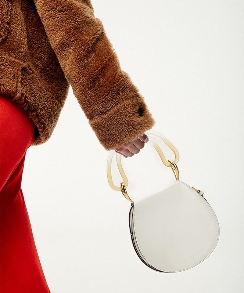Marni Melville Leather Shoulder Bag