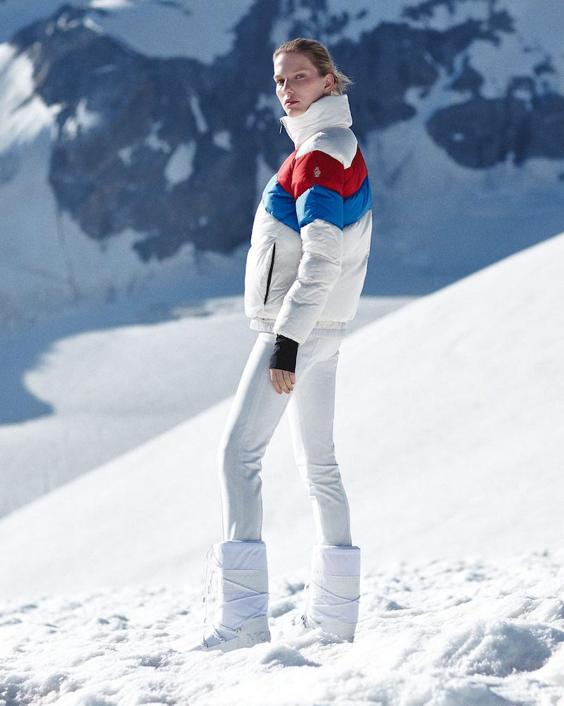 Moncler Grenoble Stirrup-Cuff Jersey Ski Trousers