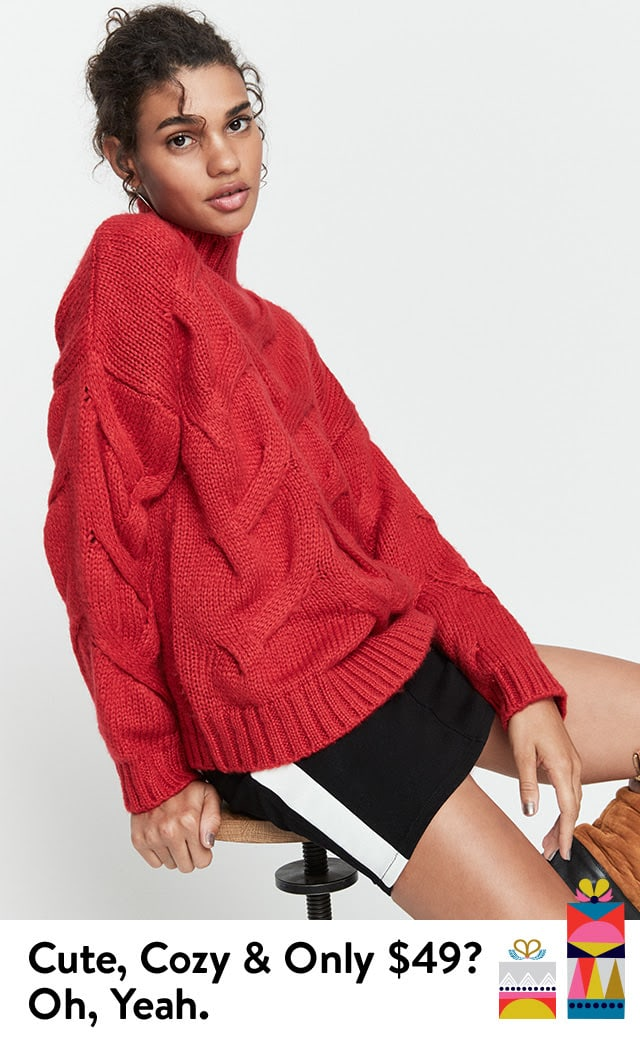 Cute, cozy and only $49? Oh, yeah.