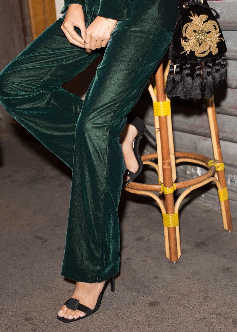 & Other Stories Embellished Tassel Crossbody Bag