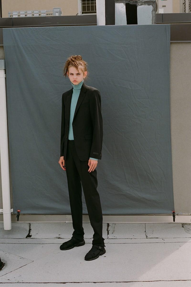 Prada Black Wool Suit