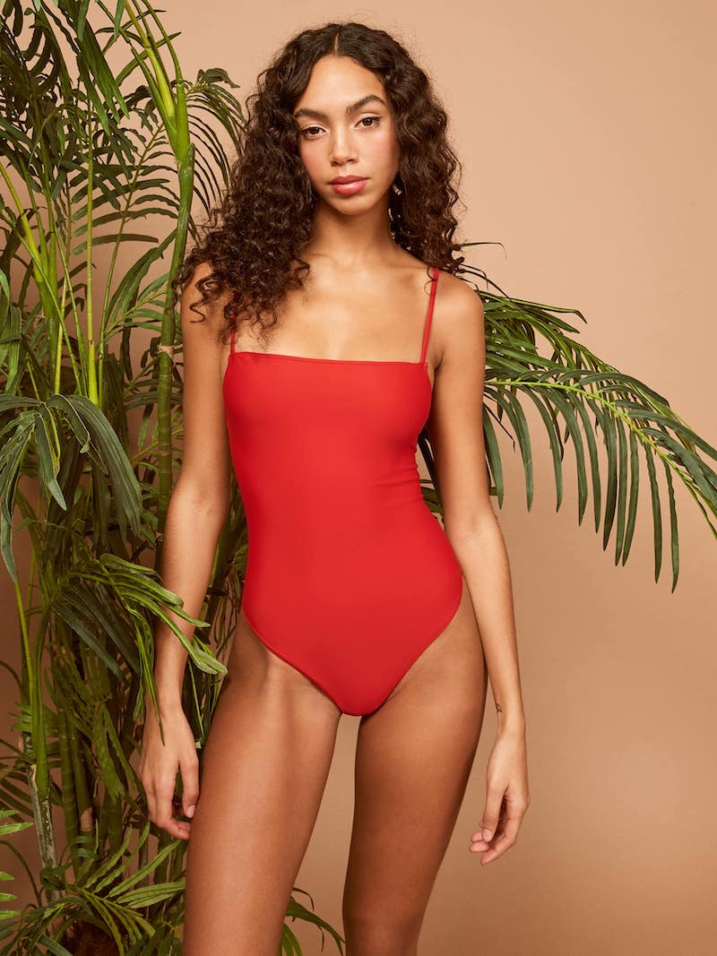 Ref Swim Kate One Piece in Cherry
