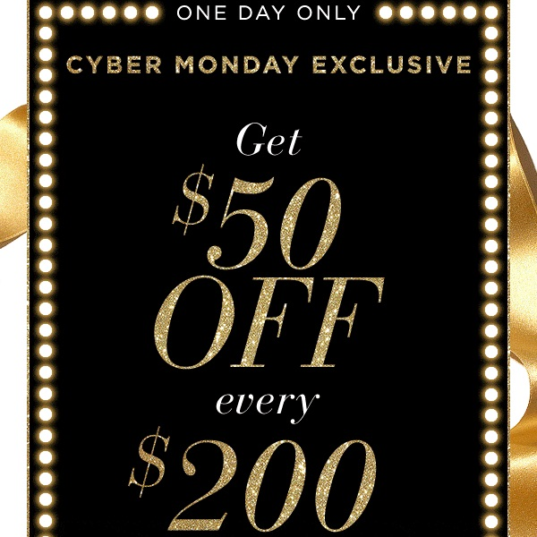 Saks Fifth Avenue Cyber Monday Sale 2018