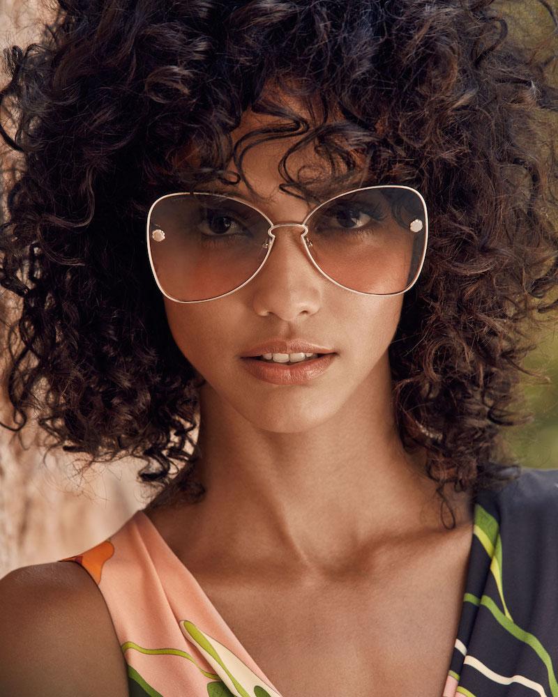 Salvatore Ferragamo Fiore Gradient Cat-Eye Sunglasses