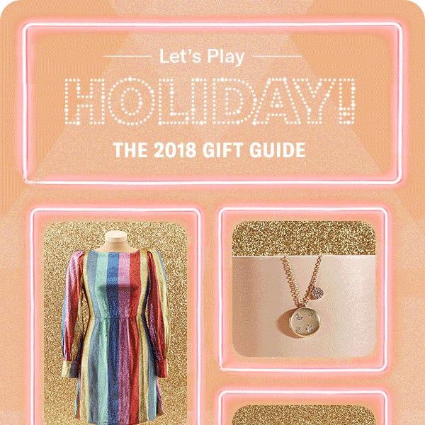 Shopbop 2018 Holiday Gift Guide