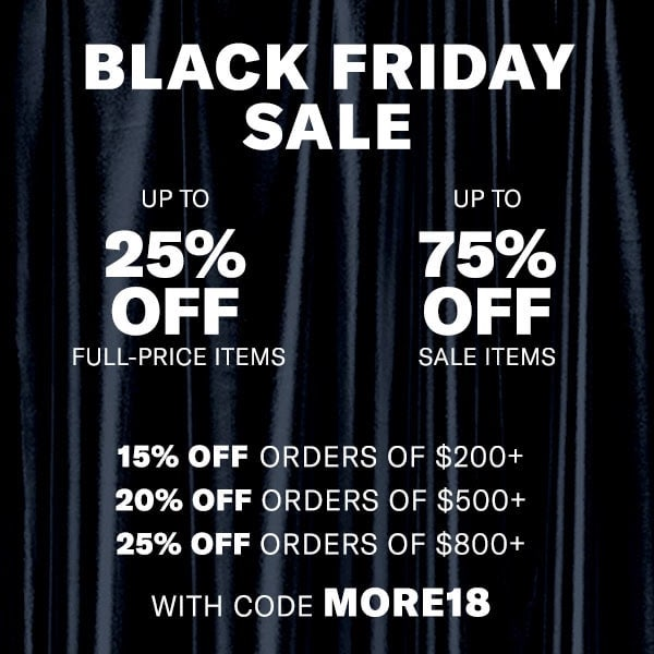 Shopbop Black Friday Sale 2018