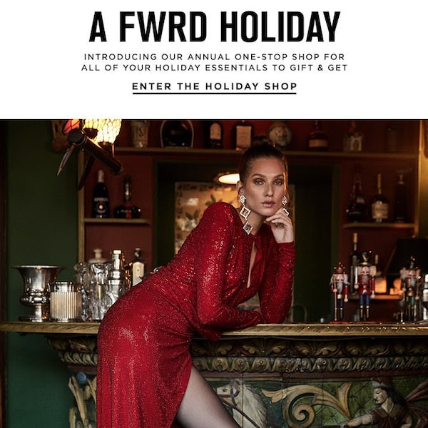 The FWRD Holiday Shop 2018