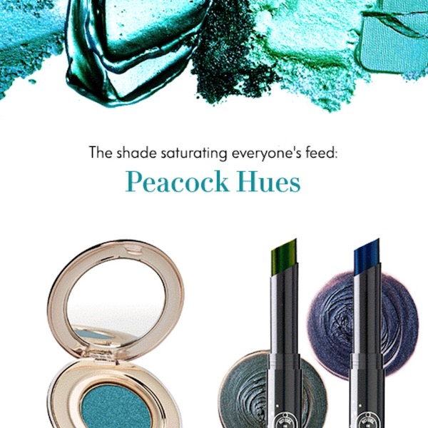 The Shade to Be Wearing Right Now: Peacock Hues