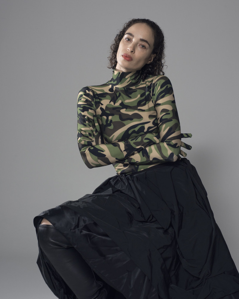 Vetements Green Camo 'The Styling' Dress