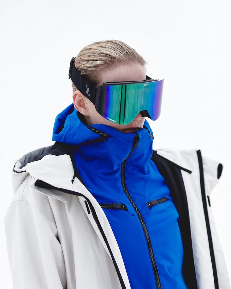 Zeal Optics Hatchet Rimless Ski Goggles