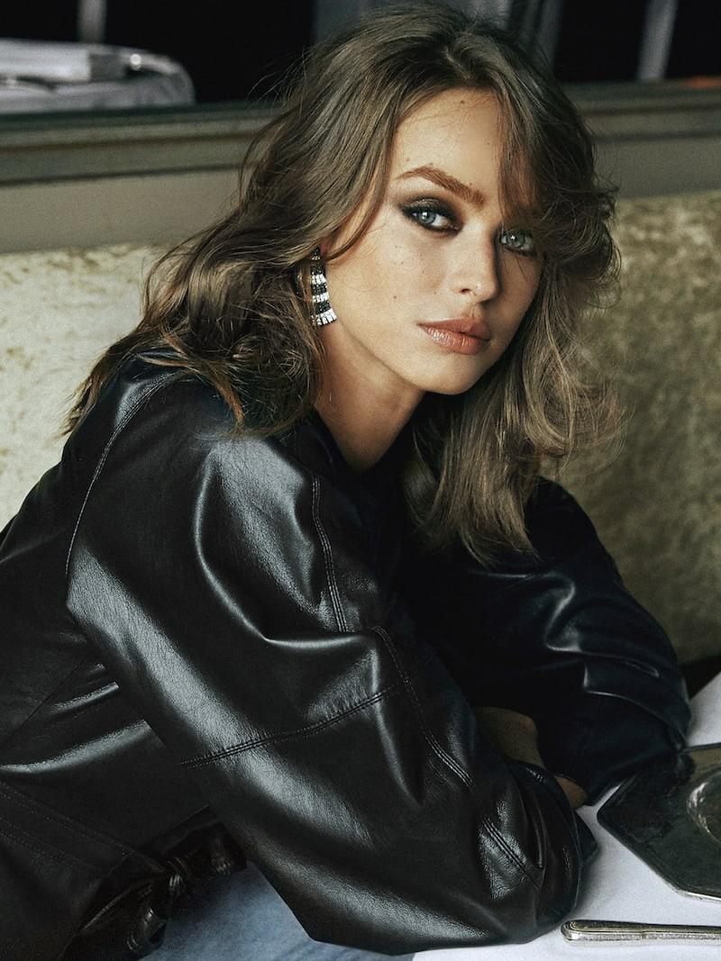 de GRISOGONO Ventaglio 18-karat White Gold Diamond Earrings