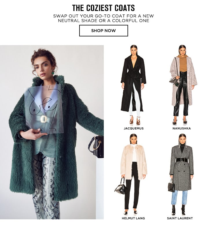 Colorful Coats - Shop Now