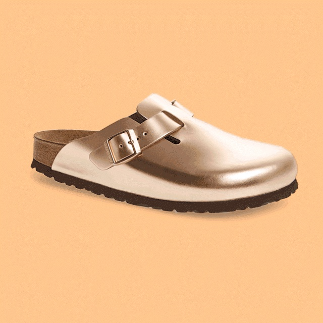 Birkenstock Boston Copper Clog