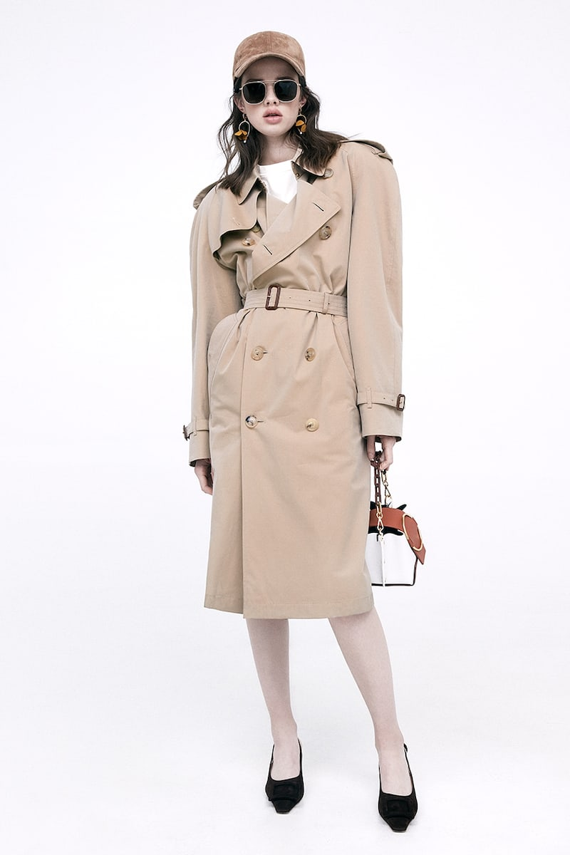 Burberry Westminster Long Cotton Trench Coat