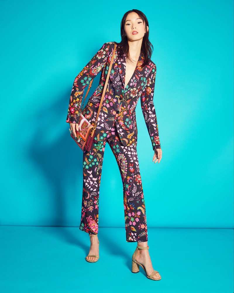 Etro Paisley-Print Blazer Jacket