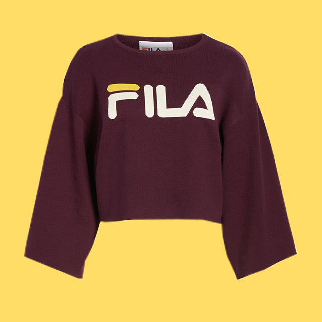 FILA Palmira Crop Sweater