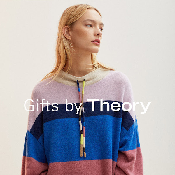 Best Cashmere: Gifts by Theory for Holiday 2018