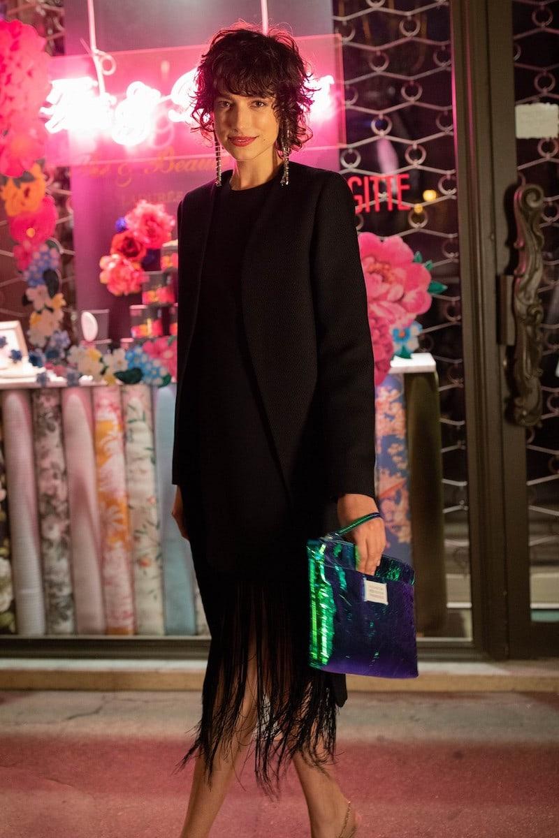 Givenchy Asymmetric Long Dress