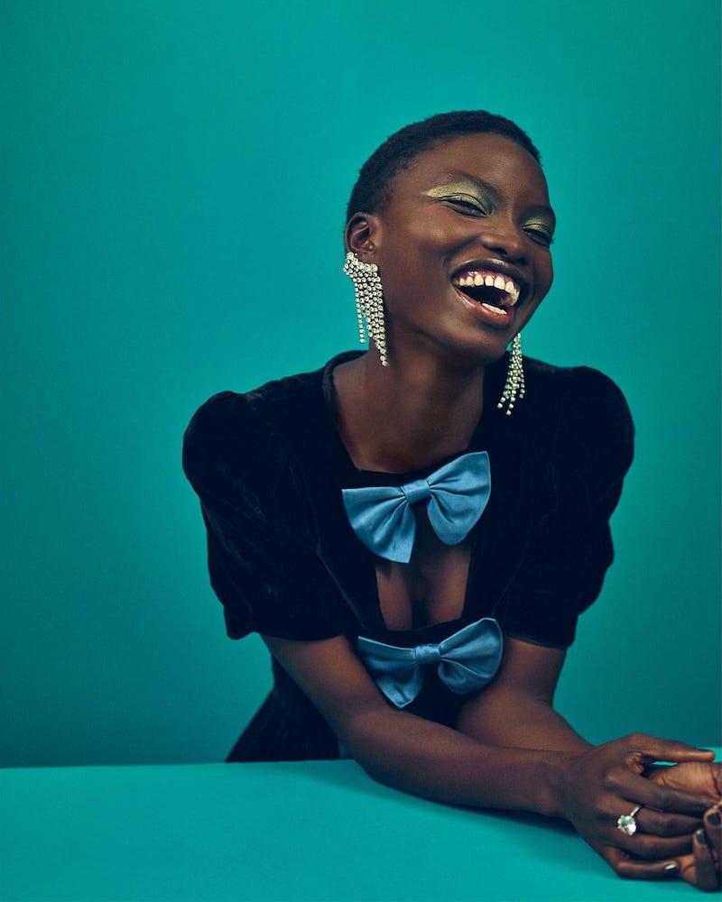 Gucci Bow-Embellished Velvet Midi Dress
