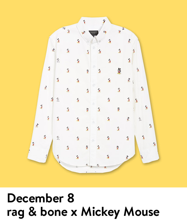 The Daily Drop gift of the day: rag & bone x Mickey Mouse.