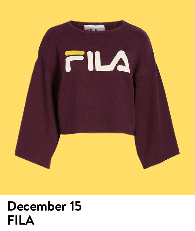The Daily Drop gift of the day: Fila.