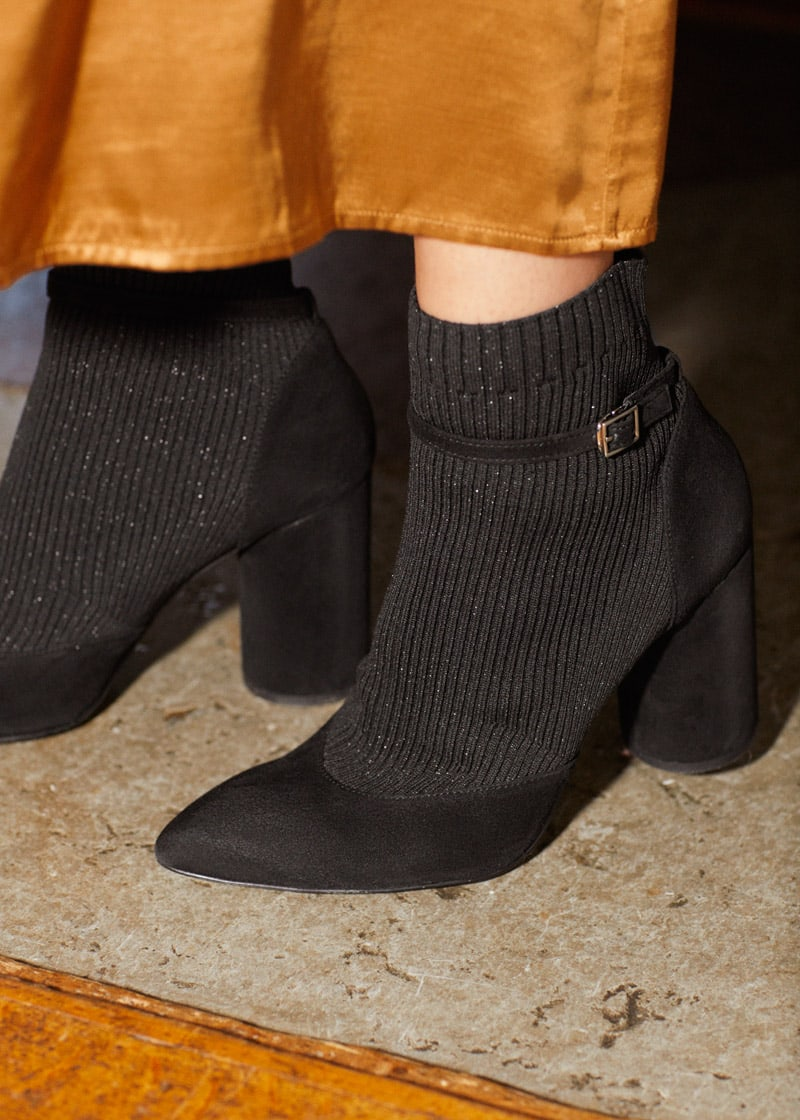 & Other Stories Ankle Strap Sock Boots