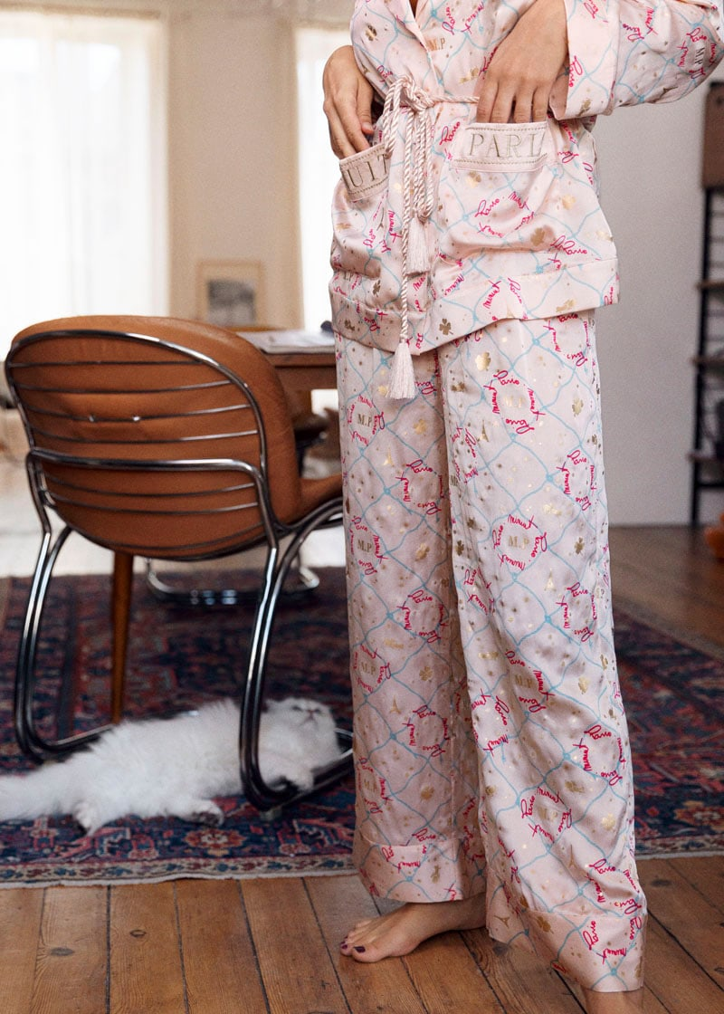 & Other Stories Silk Lounge Pants