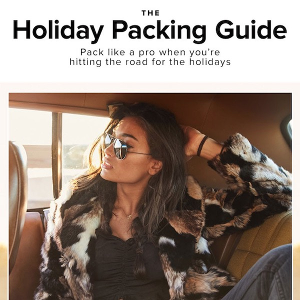 REVOLVE Holiday 2018 Pacing Guide