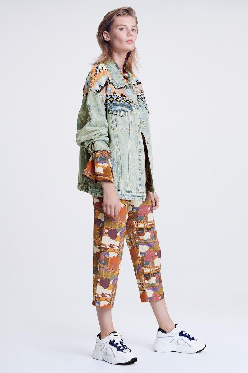 Roseanna Kors Silk Crop Pants