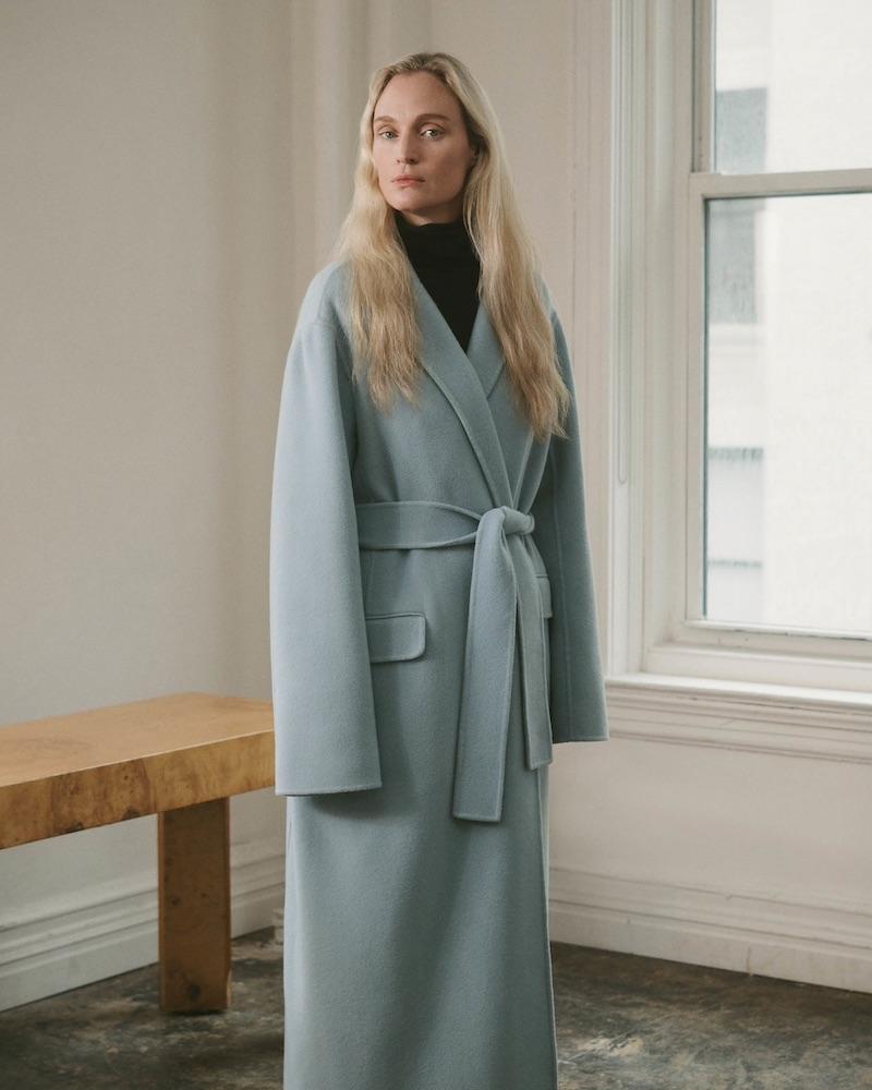 The Row Amoy Cashmere Felt Coat