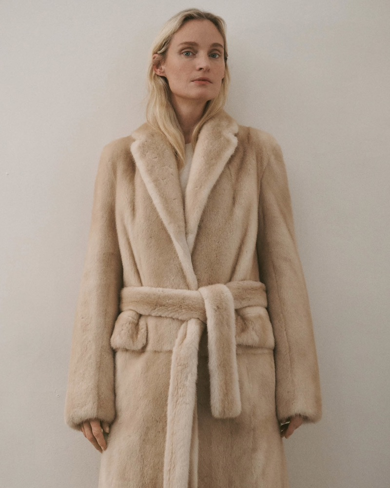 The Row Muto MInk Fur Coat