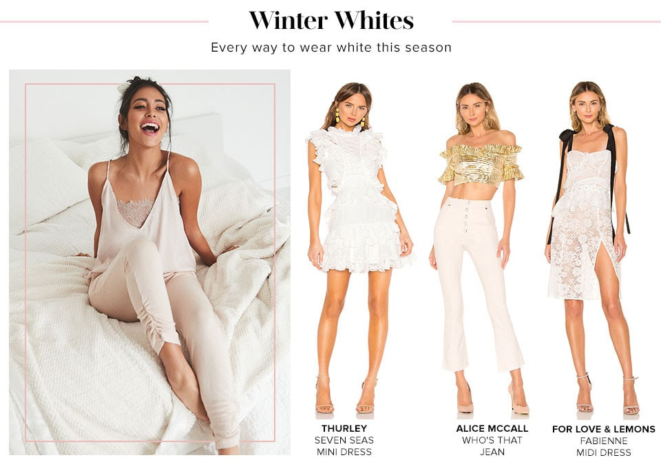 Winter Whites. Shop Winter Whites
