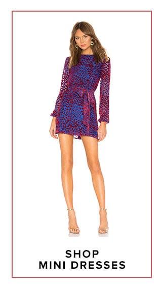 shop mini dresses