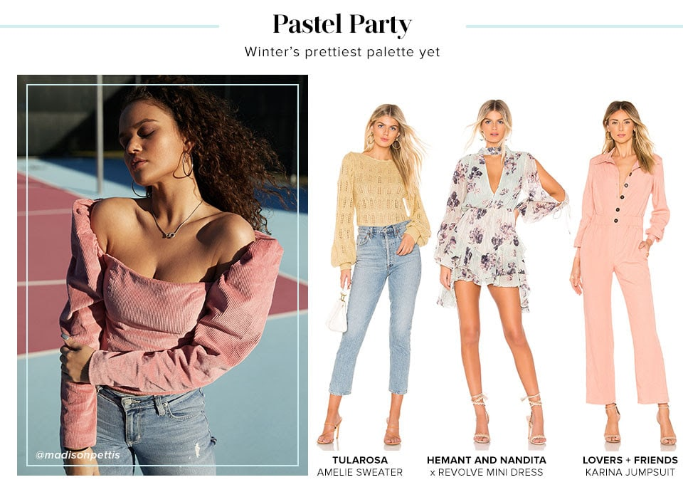 Pastel Party. Shop Winter Pastels.