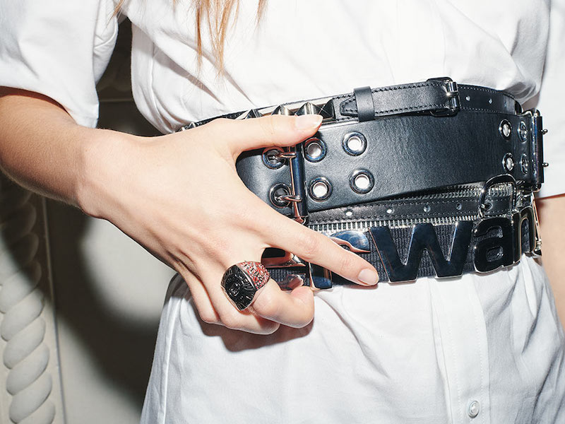 Alexander Wang Multi Stacked Belt
