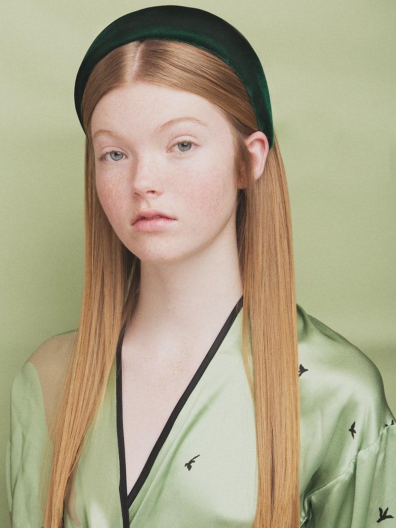 Ca&Lou Anastasia Velvet Effect Headband