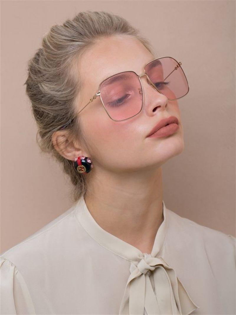 Gucci Large Round Sunglasses
