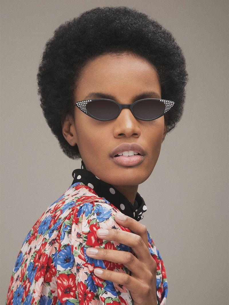 Illesteva Marianne Embellished Sunglasses