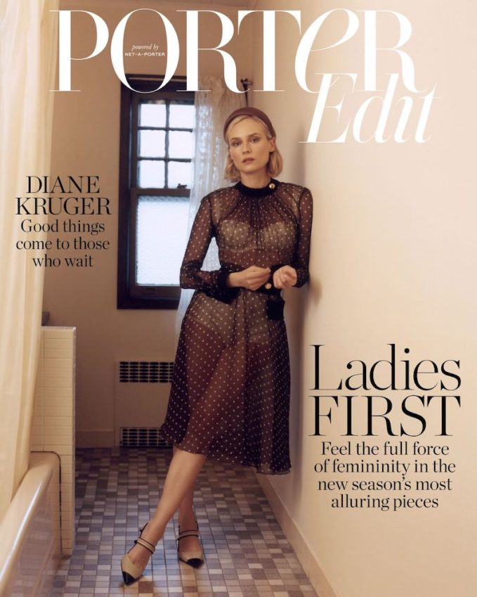 In The Lead: Diane Kruger for The EDIT
